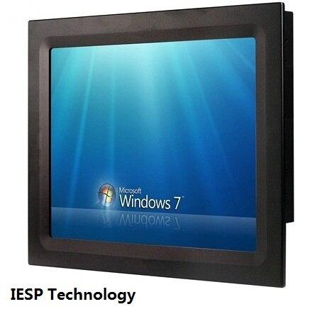 PC industrial sem ventilador de 17 polegadas, CPU J1900 / HDD DDR3 / - Computadores industriais e acessórios - Foto 2