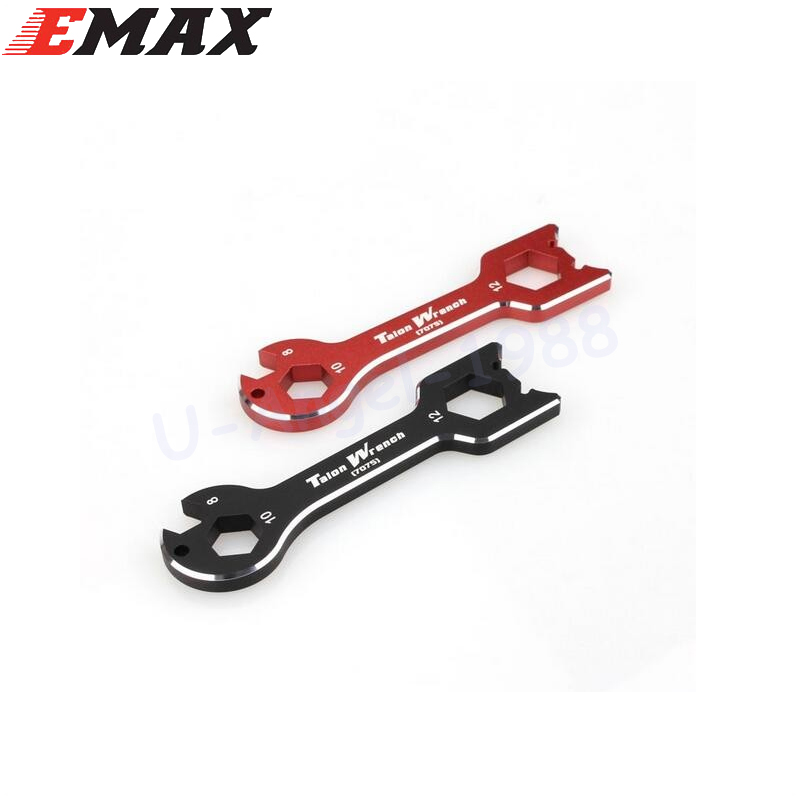 1pcs EMAX RC Model Tools Multifunctional Wrench M8 M10 M12 for Discharge propeller For Emax RS2205, Cooling series motor 20pcs m3 m12 screw thread metric plugs taps tap wrench die wrench set