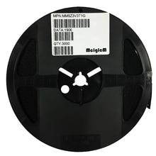 MCIGICM MM5Z3V3T1G Zener Diode 3.3V 500mW Surface Mount SOD-523 MM5Z3V3
