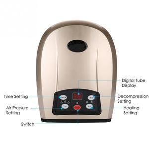 Image 5 - Elektrische Akupressur Palm Hand Massager mit Luftdruck Wärme Komprimieren SPA Finger Hand Durchblutung Schmerzen Relief Rehabilitation