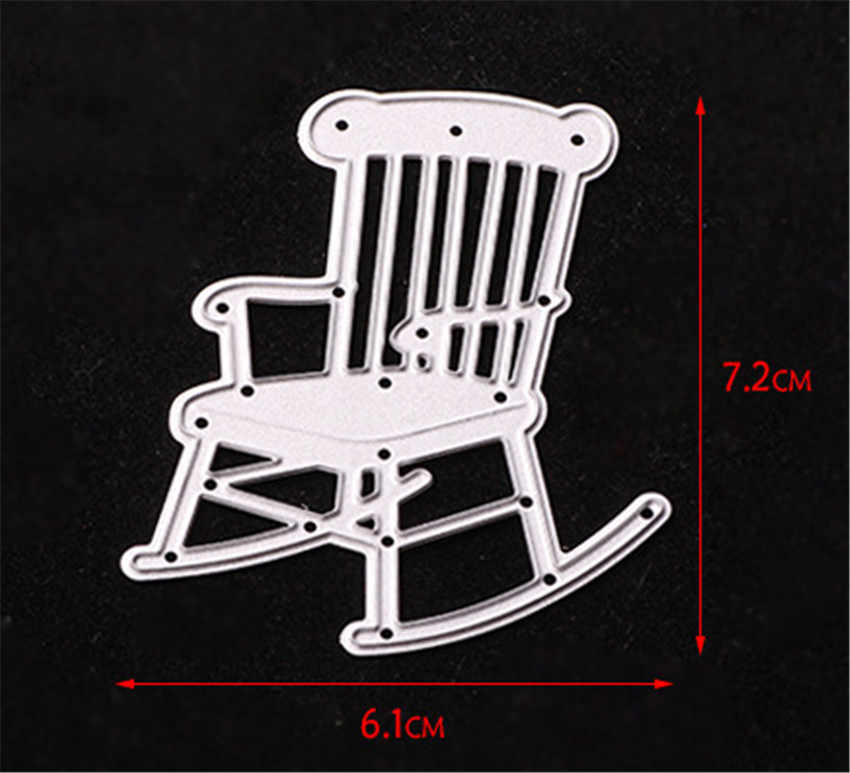 Magnificent Panfelou Metal Craft The Deck Chair Paper Die Cutting Dies For Scrapbooking Diy Christmas Wedding Halloween Cards Creativecarmelina Interior Chair Design Creativecarmelinacom