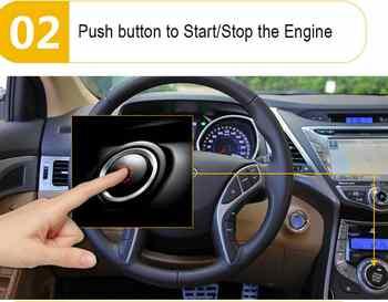 Remote Starters 2 way Kit Car Alarm Door Switch System Smart Key