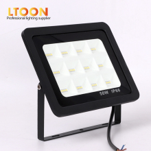 цены [LTOON]LED Floodlight 30W 50W 100W 150W Ultra Thin Led Flood Light Spotlight Outdoor 220V IP66 Outdoor Wall Lamp Flood Light