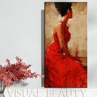 FREE SHIPPING Nude Canvas Wall Art Beautiful Womens Hot Sex Images Canvas Painting For Bedroom Decoration (Unframed) 50x100cm