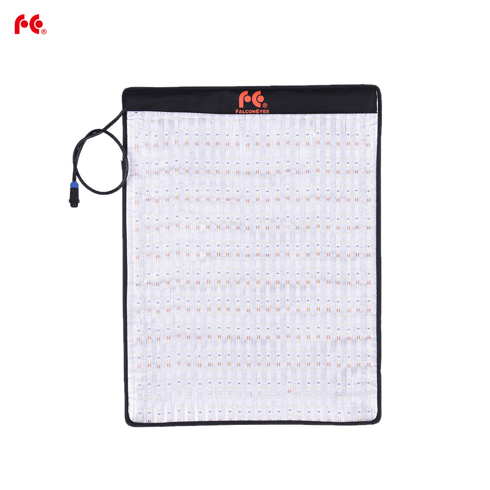 FalconEyes RX 18T 792pcs LEDs 62W Foldable Rollable Cloth LED Video Light CRI93 Photography Fill in