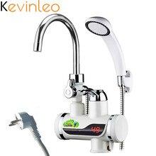 3000W Tankless Water Heater Shower 220V/110V EU/US Plug