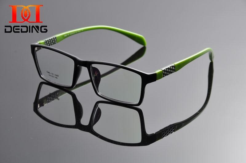 72c8dd04983 Detail Feedback Questions about DEDING Men s Rectangle Glasses Frame Sports  Oversized Clear Lens Eye Glasses Fashion Horned Rim Rectangular Eye Glasses  ...