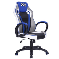 EGGREE Swivel Computer Adjustable Chair With Double Cushion,Padded Armrest,Game Chair / Office Chair / Boss chair FR stock