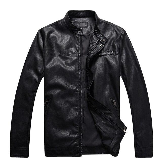 Кожаная куртка мужская 2016 популярный зимний коммерческий модно комфорт держать потепление довольно pattern джентльмен бесплатная доставка