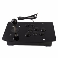 Arcade Fighting Stick Gaming Joystick Arcade Game Controller High Precision High Performance 8 Directional Buttons Acrylic
