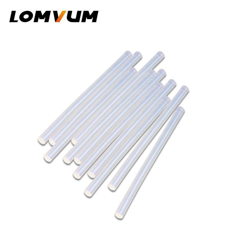 LOMVUM Professional High Temp Hot Melt Glue Stick 30/80/ 100/150W Graft Repair Heat Stick 15pcs DIY Tools Hot Glue Gun Sticks