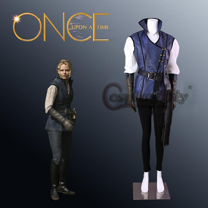 Once Upon A Time Costumes: Cosplaydiy Once Upon A Time Season 4 Emma Swan Cosplay