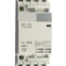 4 P 20 Ампер/25 ампер модуль бытовой Контактор ac, дома контактор, Модульные контакторы, бытовой контактор