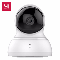 Offical YI Dome Home IP Camera With 32G SD Card 112 Wide Angle 720P 360 Two