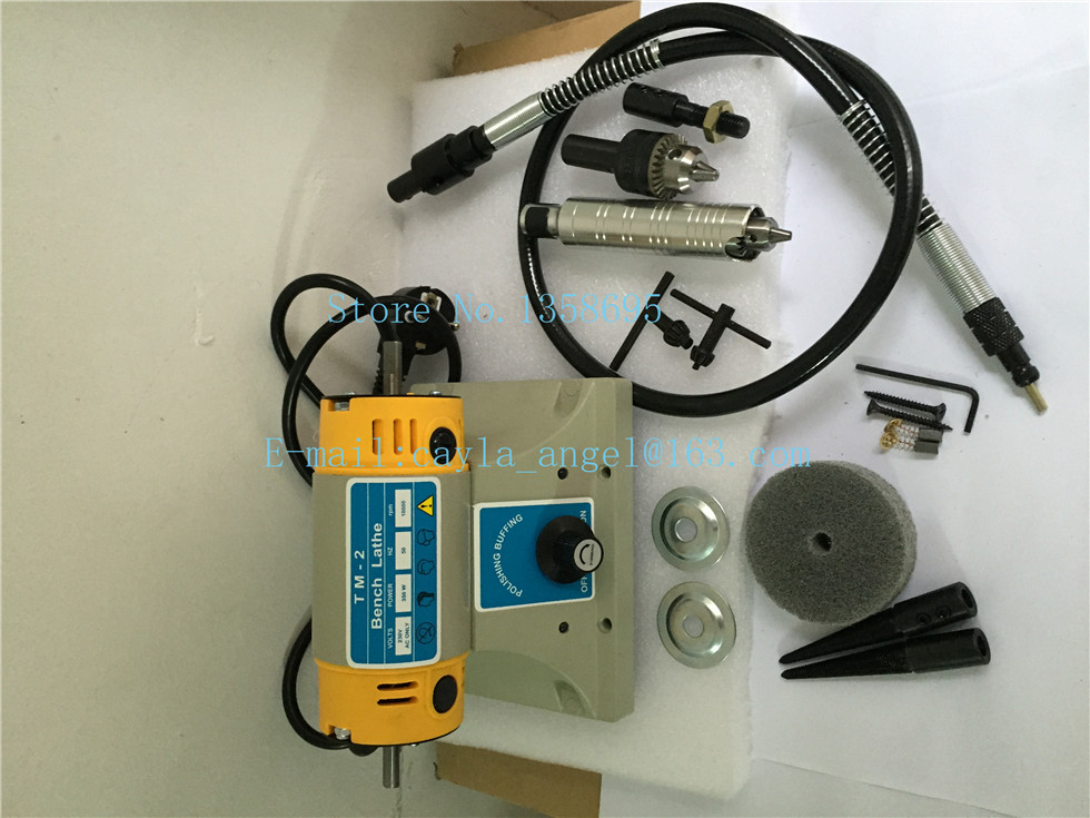 TM jewelry polishing motor,heavy duty power tool, mini benches grinder polishing machine, Jewelry Grinder and polisher