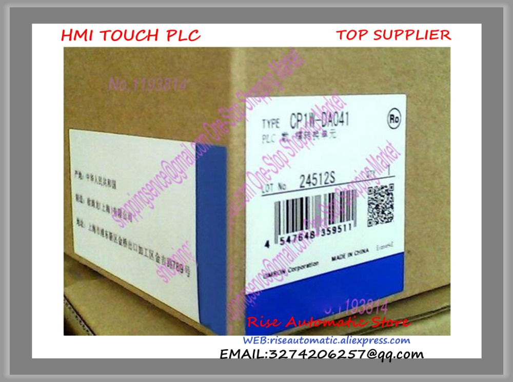 New original PLC Programmable Logic Controller Module CP1W-DA041 High-quality new original programmable controller module dvp12sa211t plc 24vdc 8di 4do transistor