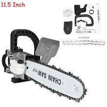 Soporte de motosierra de 11,5 pulgadas, M10 + M14, amoladora angular 100, amoladora eléctrica angular, herramienta eléctrica para carpintería