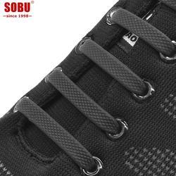 SOBU брендовые эластичные силиконовые шнурки креативные ленивые без шнурков