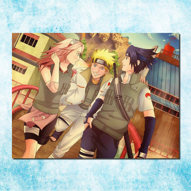 Naruto Shippuden New Anime Art Silk Poster 13x18 24x32 inch