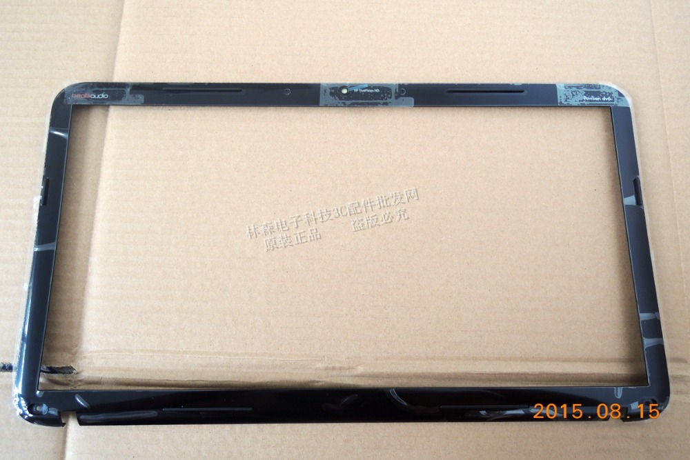 New Original for HP Pavilion DV6-6000 Black LCD Front Bezel Cove 640421-001 643307-001 665229-001 665300-001 new bottom base cover for hp pavilion dv6 dv6 6000 677174 001 640419 001 black