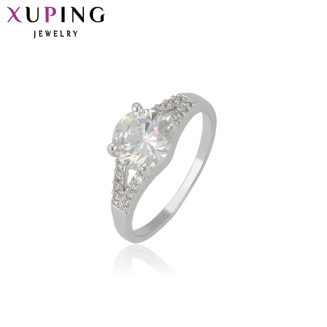 11 Deals Xuping Fashion Wedding Rings For Women Jewelry Engagement Beautiful Christmas Gift 13307