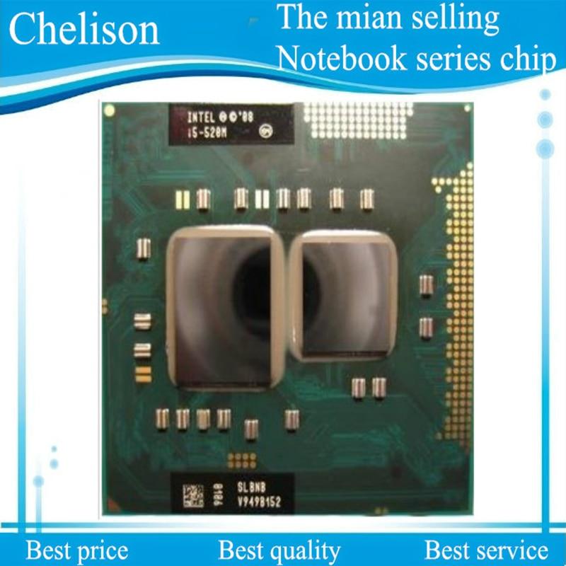 Neue Core I5-520M laptop CPU I5 520 Mt 3 Mt 2,40 GHz...