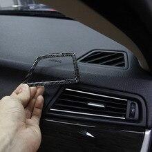 Автомобильная приборная панель, декоративная рамка, обшивка, накладка из углеродного волокна, наклейка для BMW 5 серии F10 2011-, аксессуары для интерьера