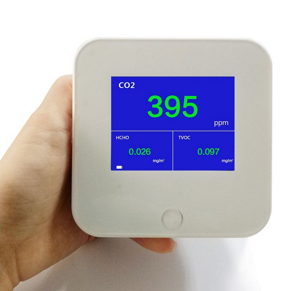 Air quality Detector DM306 English Version Air quality Detector CO2 Formaldehyde Benzene With USB charging HCHO TVOC Indoor Out in Gas Analyzers from Tools