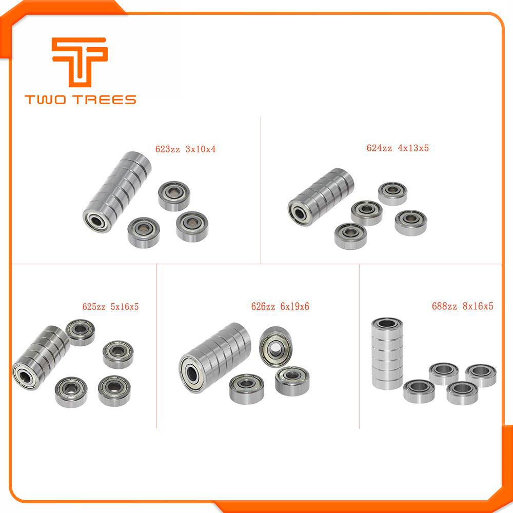 4 Pieces 606ZZ U Groove Guide Furniture Pulley Wheel Rail Ball Bearing