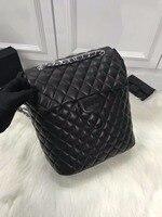 WG06265 модный роскошный рюкзак простой Портативный складной Европе дизайнер рюкзак Европе Бренд Взлетно посадочной полосы Чемодан сумка