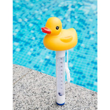 Pool Spa Jacuzzi Hot Tub Floating Animal Thermometer with F/ C Display for In-ground & Above-ground ED-shipping 2 slide gate valve s x spg shut off spa hot tub pipe jacuzzi pool pond