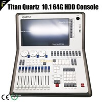 Super Compact Tiger Touch Quartz 10.1/10.0/9.1 Console Quicketch DMX512 Controller Stage Show DJ/Disco Titan Console Performance