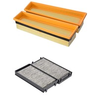 Car Air Filter Cabin Filter For BMW X5 M E70 4.4T 2010 2011 2012 2013 X6 M E71 4.4T 2009 2014 13717589641 64316945586