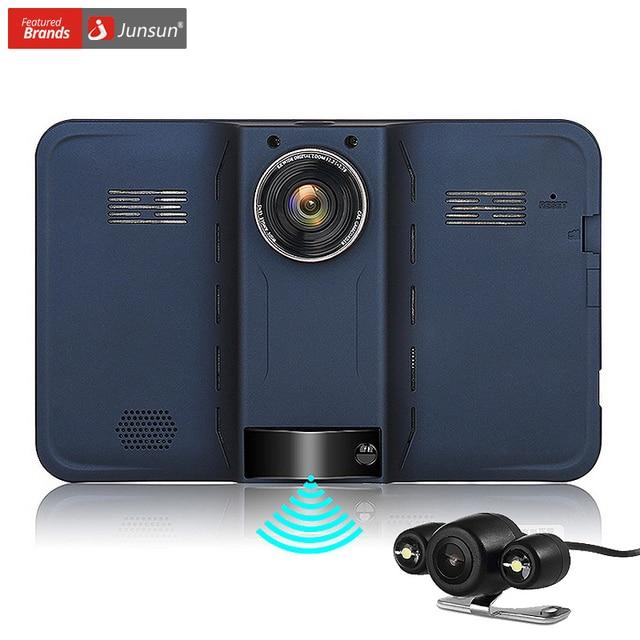 acheter junsun 7 pouce voiture gps navigation android d tecteur de radar avec. Black Bedroom Furniture Sets. Home Design Ideas