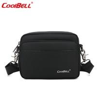 CoolBell waterdichte 7 inch Tablet Universele Draagtas Cover Schouder Tas Cross body Tas taille Pocket