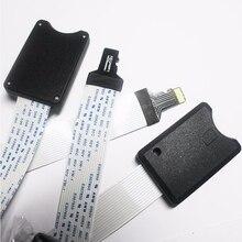 TF для micro SD card Flex кабель-удлинитель Extender адаптер 25 см/48 см/62 см reader автомобиля gps карты памяти мобильного Extender шнура компоновщик