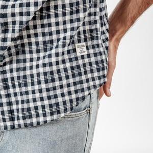 Image 5 - Мужская рубашка в клетку SIMWOOD, повседневная рубашка высокого качества, брендовая модель 190164 большого размера на лето и осень, 2019