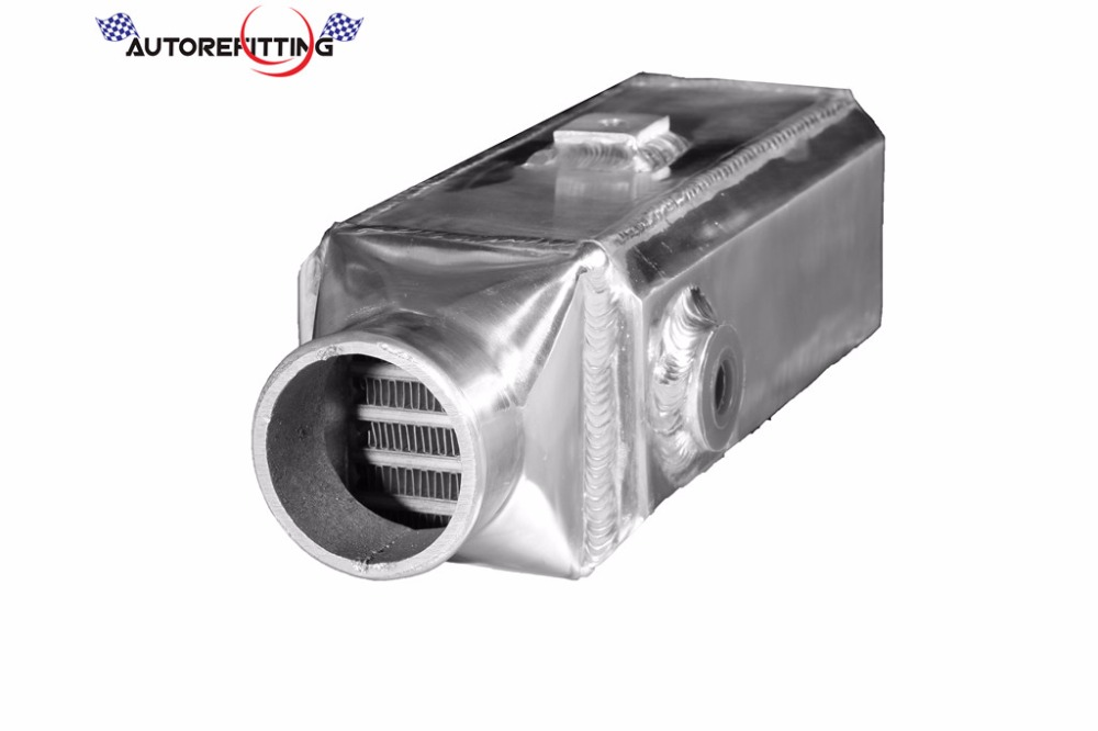 AUTOREFITTING Universal Light Weight Aluminum Bar and Plate Turbo Front Mount Water to Air Intercooler
