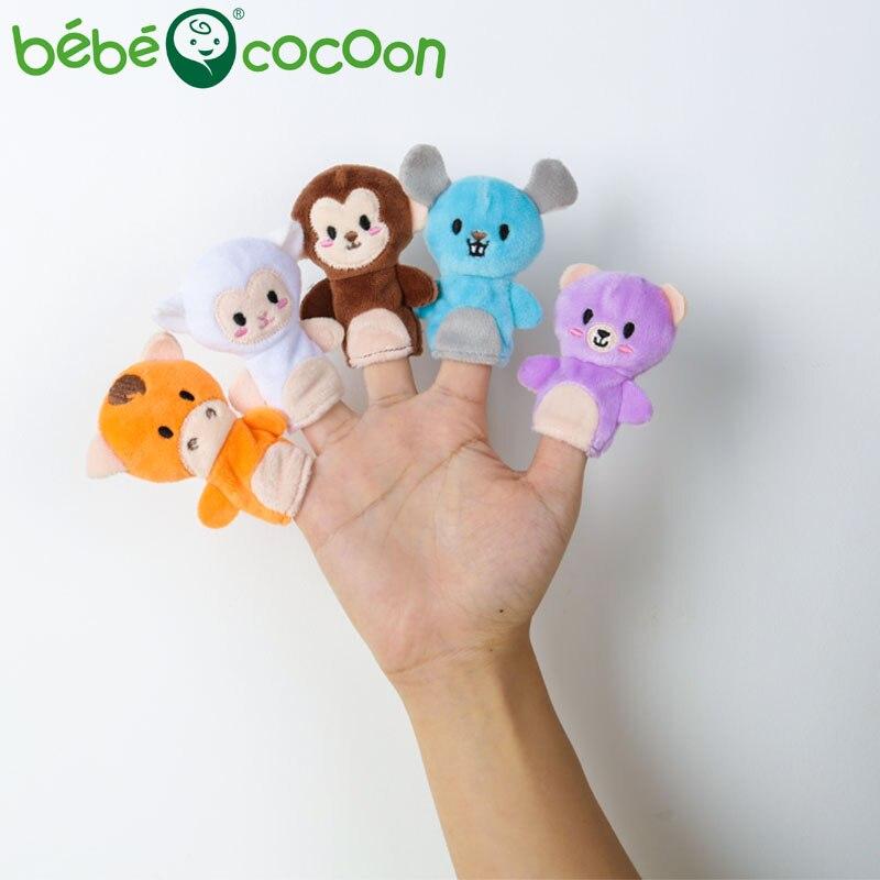 bebecocoon 10 unids / lote juguete de peluche de bebé marionetas de - Muñecas y peluches - foto 3