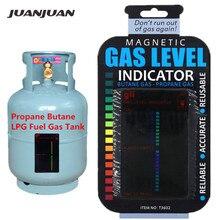 Пропан Бутан LPG индикатор уровня топливного бака газа магнитный датчик караван бутылка измерения температуры палка скидка 20