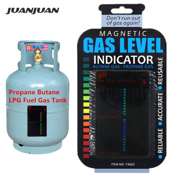 Propane Butane LPG Fuel Gas Tank Level Indicator Magnetic Gauge Caravan Bottle Temperature Measuring Stick 20%off