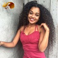 8А Полное Кружева Парики Человеческих Волос Для Черных Женщин 250% Плотность полное Кружева Парики Девственницы Бразильские Kinky Вьющиеся Фронта Шнурка Человеческих Волос парики