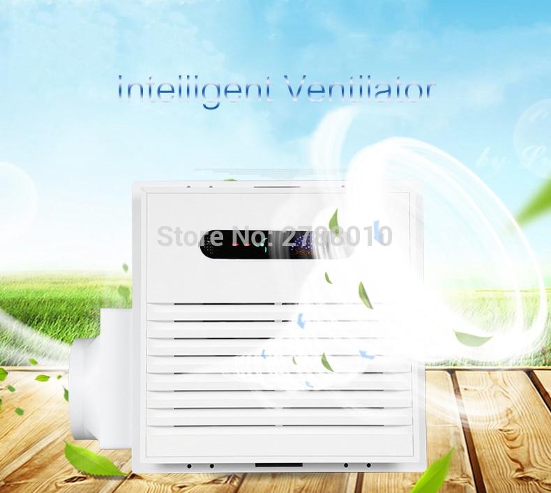 Ventilateur salle de bains cuisine Ventilation échappement extracteur ventilateur grande aspiration 50 W Ventilation extracteur d'air Silence BM3030