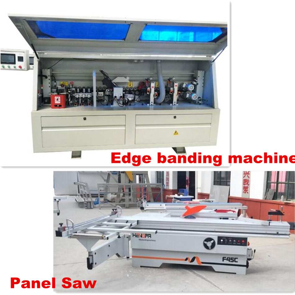 High quality pvc mdf kdt plywood cabinet door full automatic edge bander banding machine for woodworking furniture