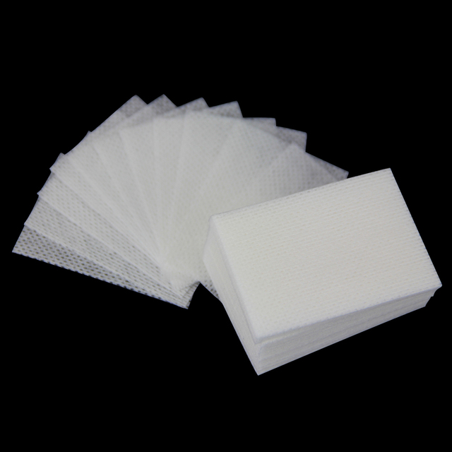 700pcs Nail Cotton Wipes UV Gel Nail Tips Polish Remover Cleaner Lint Paper Pad Nail Art Cleaning Manicure Tool Free shipping