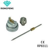 Rongpeng Needle Nozzle Air Cap Set For HVLP Spray Gun 0 8 1 0 1 3