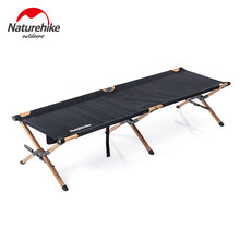 Naturehike Camping Cot Ultralight Foldable Hiking Bed Aluminum Alloy Pole Bearing 150kg NH19X003-C