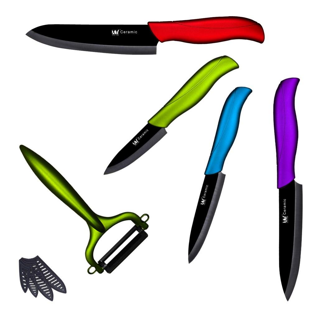 Black Blade High Quality Fashion Fruit Vegetable Ceramic Knife 3 4 5 6 inch Ceramic Kitchen