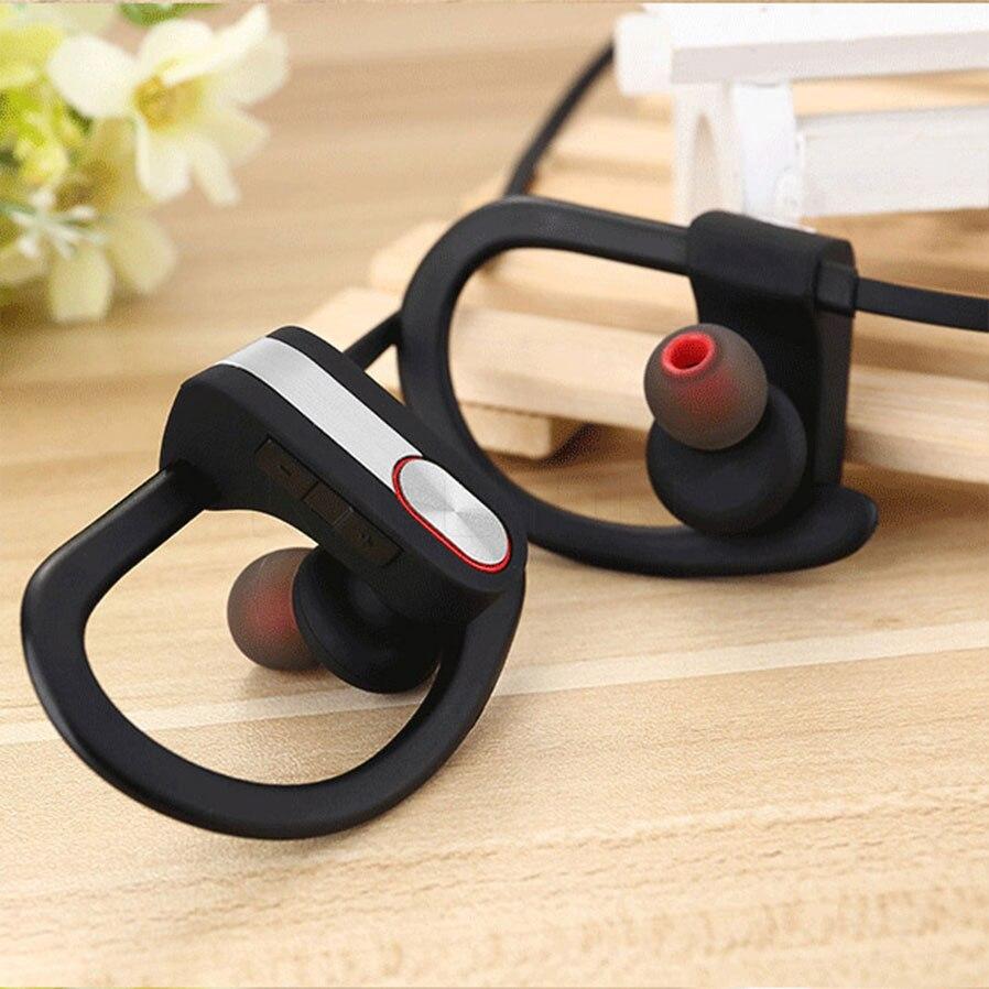 Stereo 2018 Bluetooth Earphone Sports Ear Hook Wireless Waterproof  Bluetooth Earbuds With Mic Car Music Listen