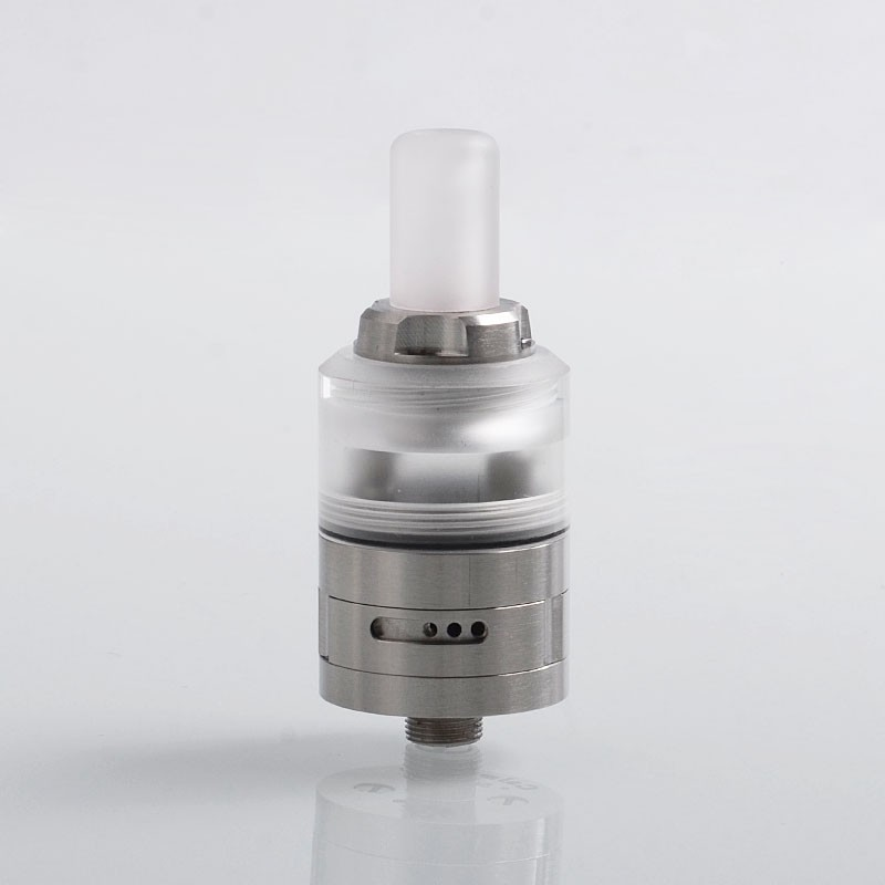 PHENOMENON Caiman Style MTL RDA 22mm Diameter Rebuildable Dripping Atomizer with BF Pin Silver 316 Stainless Steel RDA atomizer цены
